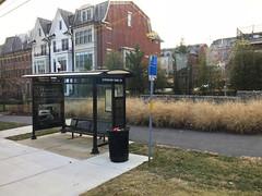 bus stop, strathmore avenue