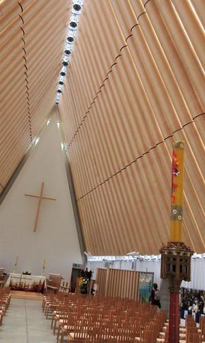 Christchurch, NZ - Transitional (Cardboard) Cathedral Interior
