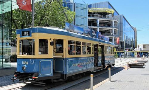 Christchurch, NZ - Tram