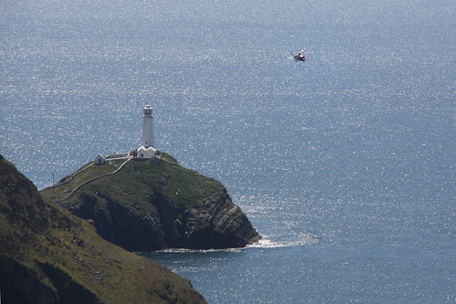South Stack flyby
