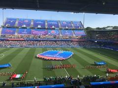 Italien gegen China in Montpellier