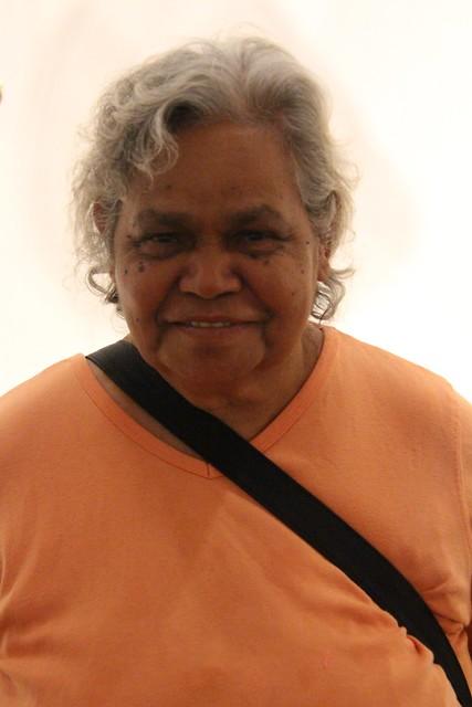 Nancy Cowan, 2018. Cardwell Region Image courtesy of Girringun Aboriginal Art Centre