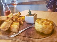 Roasted Garlic at Corkscrew Cafe