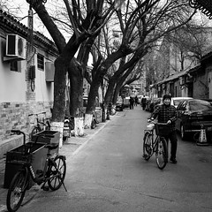 Smile from the hutong
