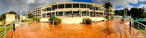 Exterior Deck View of Opal Cove Resort, Korora, Coffs Harbour, NSW