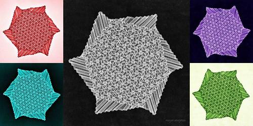 Starry Flowerbed (Marjan Smeijsters)