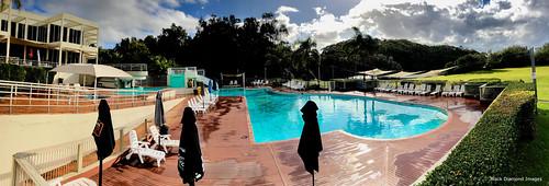 Pool View of Opal Cove Resort, Korora, Coffs Harbour, NSW