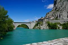 Sisteron - Brücke - Durance - Photo of Sourribes