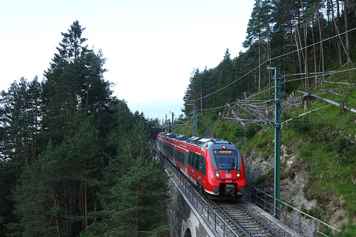 REX5403, Kaiserstand- und Lehnenviadukt