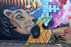 graffiti - Lucas Anão e outros na Guia Lopes