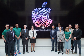 May 11, 2019 MMB and Events DC Celebrated the Opening of the Apple Carnegie Library