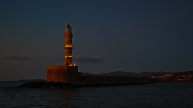 Lighthouse in the evening