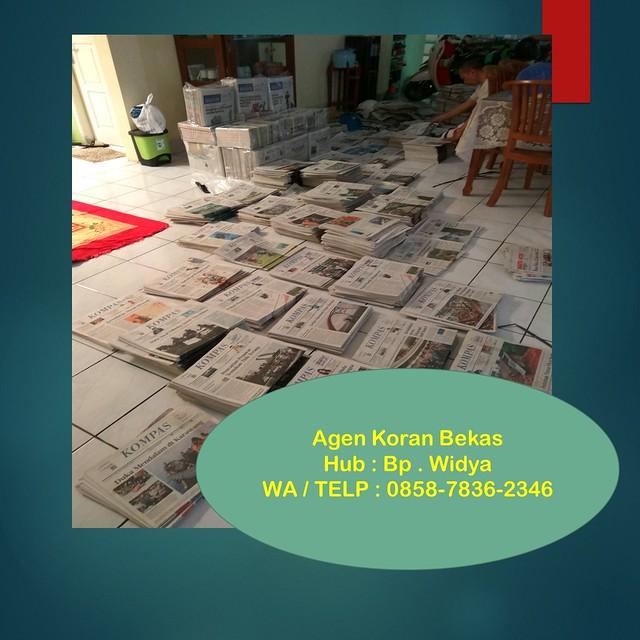 OPEN SALE!!!, WA/Telp 0858-7836-2346,Agen Koran Bekas di Klaten