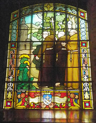 Sailors' Church stained glass 03 - Photo of Cricquebœuf