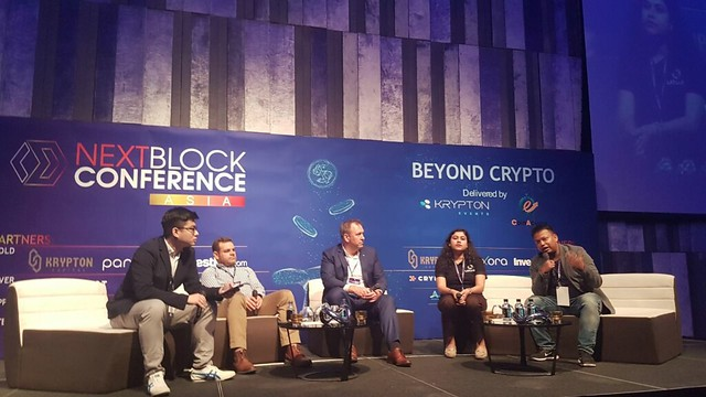 XR web - Sharing you a snapshot of the Next Block Conference in Bangkok