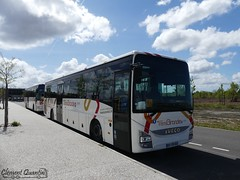 IVECO BUS Crossway Pop - 4435 et IRISBUS Récréo II - 4249 - CFTI Transports David - Photo of Biganos