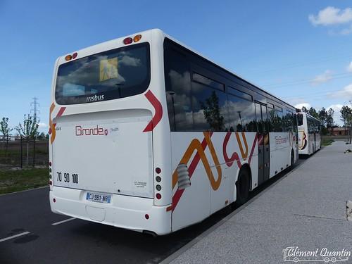 IVECO BUS Crossway Pop - 4435 et IRISBUS Récréo II - 4249 - CFTI Transports David