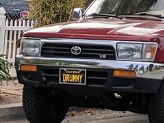 DRUMMY custom plates, Burbank, California,, USA