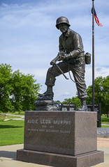 Audie L. Murphy Statue 1