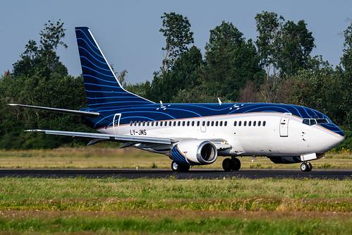 LY-JMS | Boeing 737-522 | KlasJet