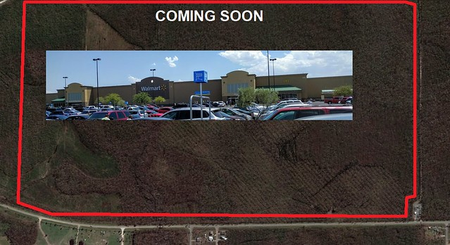 Walmart Supercenter will be built on Co Rd 386 Mexico Beach FL on July 28, 2021