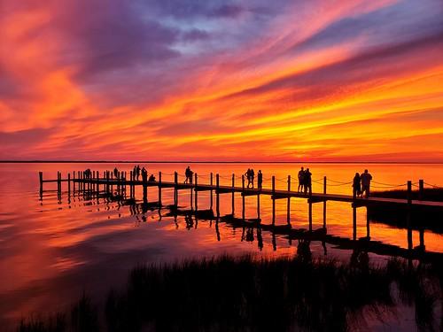 Albemarle Sound sunset