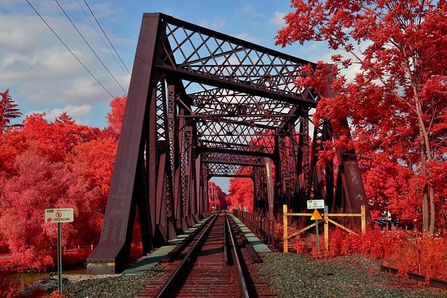Railroad Bridge (infrared)