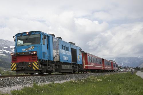 A Zillertalbahn D 15  Uderns 06-05-2019