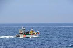pêcheur à Roubary - Le petit port de Gatteville
