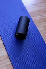 foam roller / yoga mat