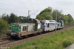 BB69200 Fret SNCF 69281 + BB67400 SNCF 67450 + BB69400 Fret SNCF 69482
