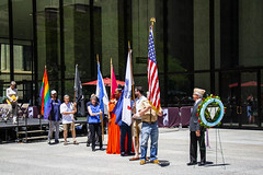 Retrieval of Colors and Procession to the Eternal Flame Salute to LGBT Veterans Chicago Illinois 6-25-19_1290