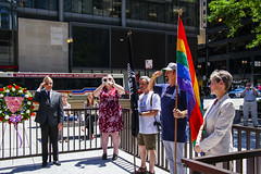 Echo Taps Salute to LGBT Veterans Chicago Illinois 6-25-19_1294