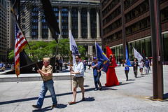 Retrieval of Colors and Procession to the Eternal Flame Salute to LGBT Veterans Chicago Illinois 6-25-19_1293