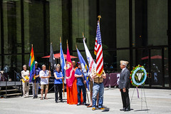 Retrieval of Colors and Procession to the Eternal Flame Salute to LGBT Veterans Chicago Illinois 6-25-19_1291