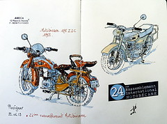 24ème Rassemblement International Motobécane