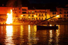 Collioure by night - Photo of Banyuls-sur-Mer