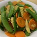 Stir Fried Carrots, Corn & Sweet Pea
