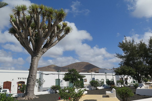 The village of Tinajo, Lanzarote