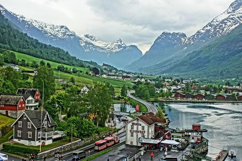 Olden, Norway Fjord
