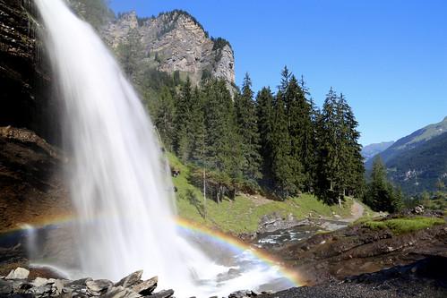 La cascade du Rouget.     Sixt-Fer-à-Cheval(74)