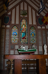Chapel to the Sailor's Church, Altar - Photo of Cricquebœuf