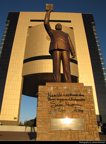Independence Memorial Museum & Sam Nujoma Statue, Windhoek, Namibia