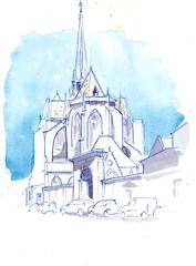 Cathédrale Saint-Bénigne, Dijon - Photo of Talant