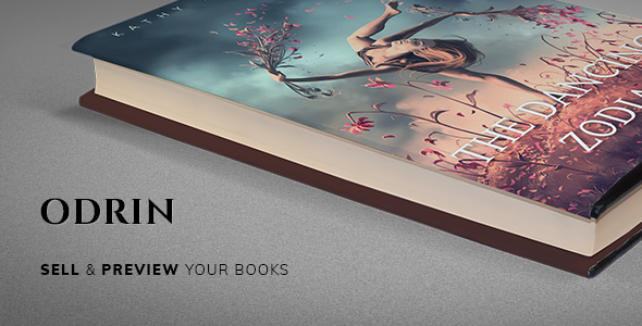 Odrin v1.2.6 - Book Selling WordPress Theme for Writers and Authors