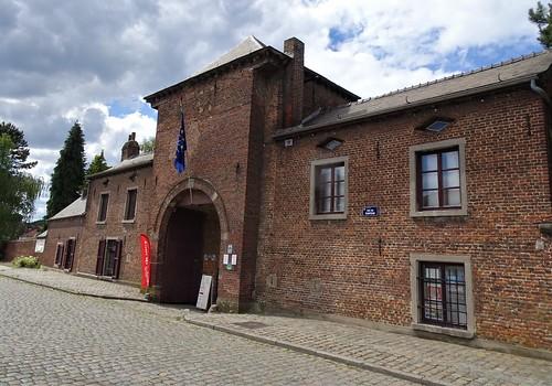 Entrée du Château d'Havré.