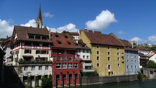 Baden AG - Altstadt an der Limmat