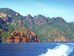 France, la Corse, la réserve de Scandola