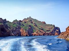 France, la Corse, la réserve de Scandola et Tour Génoise