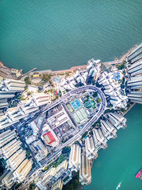 Hong Kong from Way Above